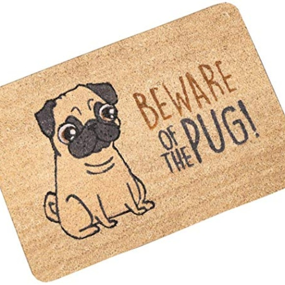 Other - OHYESS Rubber Funny Be Ware of The Dog Front Door